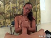 Latina Rosa uses oil and her hands