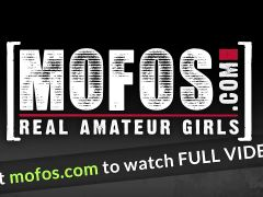 Mofos - Lets Try Anal - Anal Virgin Fucked In