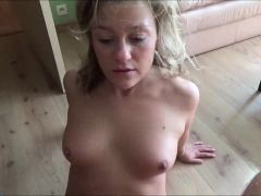 She\'s VERY Impressed by his Huge Cum Load