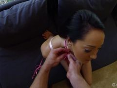 Sexy Sabrina Banks loves it \'doggystyle\'