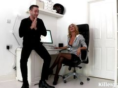 Stunner screwed in the office