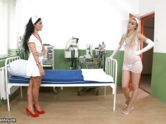 Bettina DiCapri and Sophie Moone hottie nurse