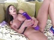 Cock hungry MILF Ariella Ferrera fucked in her butthole
