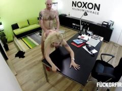 FuckOF - The Boss Shoots his Load into Accountant Barb