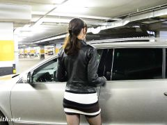 Jeny Smih At Car Parking