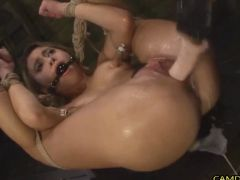 Young Teen Fucked Hardcore And Abused In BDSM Show