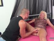 Hot blonde does some great ATM action DTD