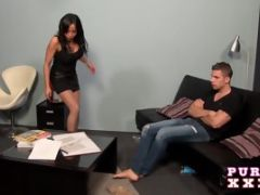 PURE XXX FILMS Romana loves getting her skirt lifted