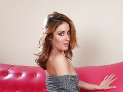 Brunette Sheena Shaw Asks Her Friend To Frig Her