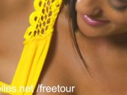 Exotic amateur Chloe Amour cums on her toy