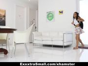 ExxxtraSmall - Lovely Little Spinner Pounded By Her Step-dad