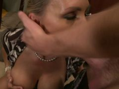 Busty Tanya Tate gets fucked and jizzed in bed