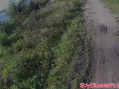 Young Amateur Doggystyled On Spycam In POV