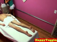 Real Oriental Masseuse Cockriding And Tugging