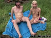 VACATION HOT FUCK BY RUSSIAN COUPLE !!