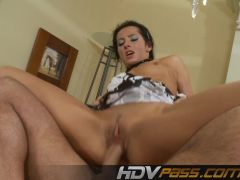 Hot Brunette Victoria Rose Licked Deep And Fucked Hard