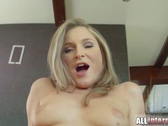 Angel Snow is fucked hard and filled with cum