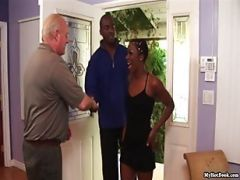 Black And White Man Change Wife