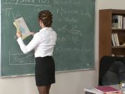 Hot teacher fucked by her student