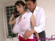 Nippon milf riding dick reversecowgirl