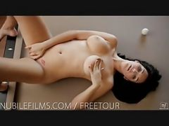 Nubile Films - Busty Holly Michaels Makes Her Pussy Cum