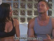 Kendra Lust pays her dues to her sexy gym instructor