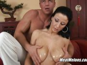 Spooning a sweet MILF pussy