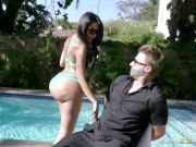 Big booty Lela Star bounces on a hard dick