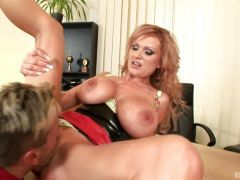Office babe Sharon Pink loves to fuck