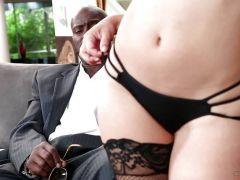 Little rich girl Remy Lacroix fucking her chauffeurs BBC