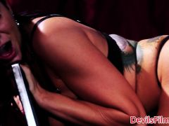 Bigtitted femdom pussy pounded doggystyle