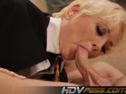 HDVPass Naughty Nora and her horny apprentice!