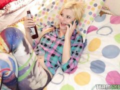 Charlyse Bella rides her step brothers cock