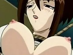 Sexy Anime Babe Shows Huge Boobs and Enjoyed Pussy Fingering