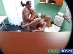 Randy nurse fucked hard and rough