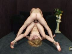 Bendy Tatum Bailey gets her tight twat fucked from all angles