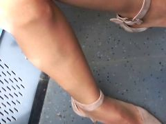 Japanese dream nylon legs and heels