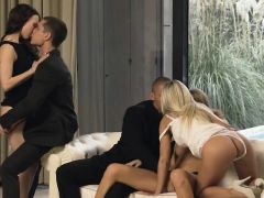 Unbelievable Group Sexing Art Action