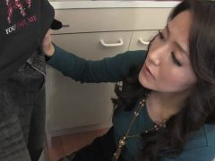 #Asian MILF sucks