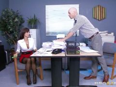 Reena Sky fucks her big dicked colleague