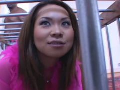 Kammy Japanese  blows cocks like a true goddess