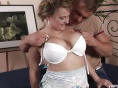 Chubby Young Ruby Gets Big Tits Fucked And Jizzed