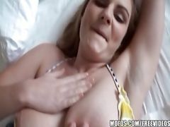 Busty Euro Babe Stays In Her Hotel Room For Some Rainy Day Anal
