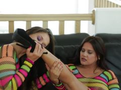 Anal games with lesbians Selma Sins and Ziggy Star