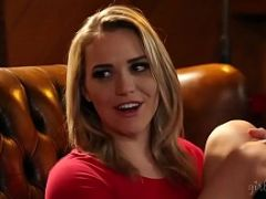 Adriana Chechik squirting in front of Mia Malkova