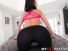 Unloading my cock and throat fucking a hot spanish chick