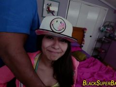 Teen Latina Black Schlong