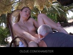 Denisa fucks the Old man everytime she is horny