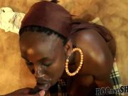 AFRICAN STYLE BLOWJOB !!