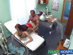 FakeHospital Hot nurse joins doctor and sexy patient